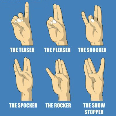 My Gang Sign Is On The Bottom Right