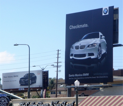 A4, get it? Blah, kudos to BMW of Santa Monica on this one ;)
