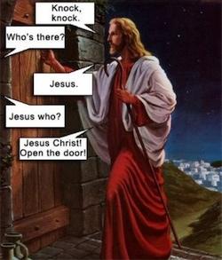 knock knock jesus