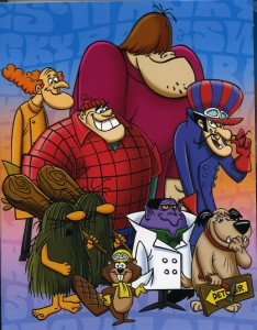 Random Cartoon Characters of all time. Including Dastardly D***!