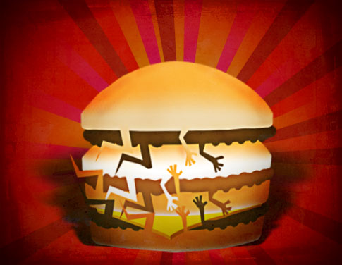 McGangBangs have also been featured in contemporary art.