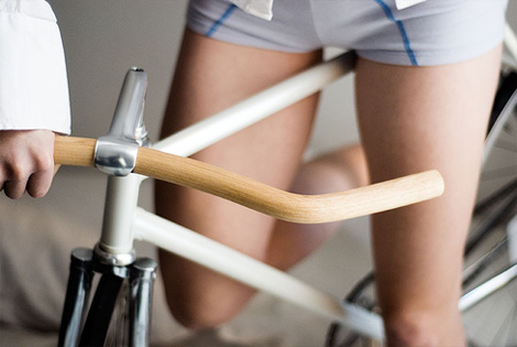 wood-handlebars